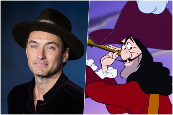 Capitan Uncino Jude Law Peter Pan