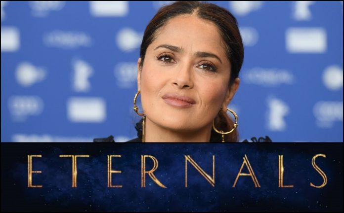 Salma Hayek Eternals Marvel
