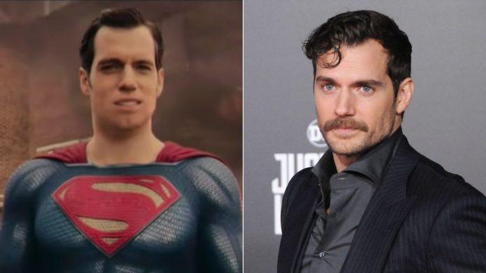 mustache league, henry cavill come superman coi baffi