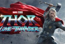 htor love and thunder chris hemsworth pubblica poster ufficiale