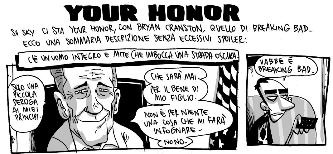 Your Honor Zerocalcare