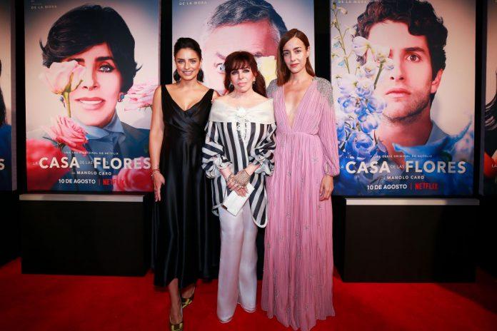 La casa de Las Flores film