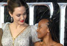 angelina jolie e la figlia zahara