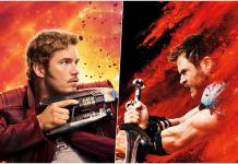 Chris Pratt Chris Hemsworth Thor