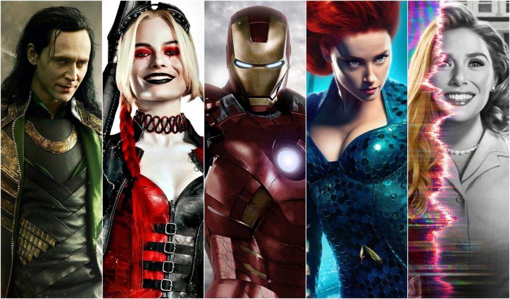 attori Marvel e DC