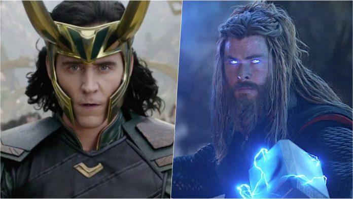 Loki Thor love and thunder