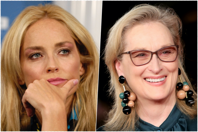 Sharon Stone Meryl Streep