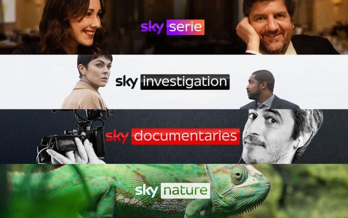 Sky nuovi canali