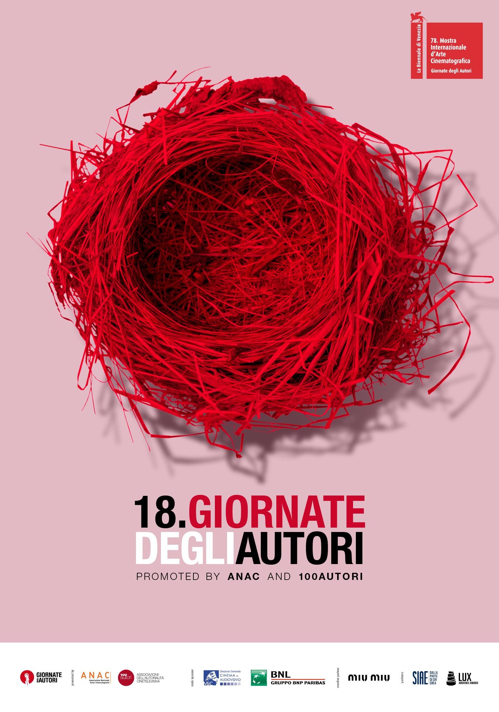 Giornate degli Autori 2021 poster ufficiale
