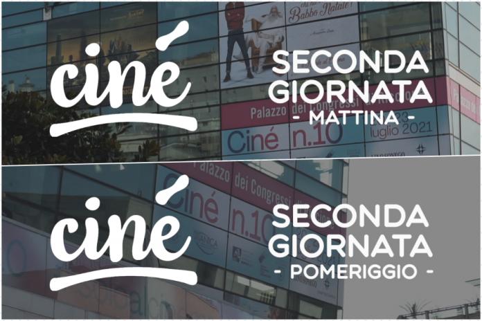 Ciné - Giornate di Cinema Riccione, seconda giornata