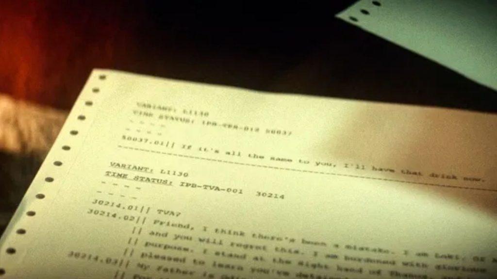 Fermo immagine dai titoli di coda di Loki. Crediti: Marvel Studios