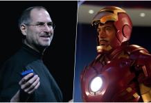 Steve Jobs Iron Man