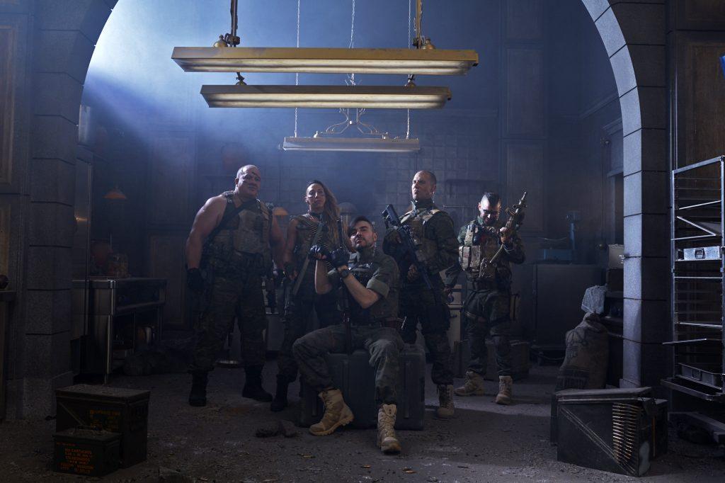 La squadra militare de La Casa Carta 5. Cr. NETFLIX