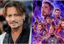 Johnny Depp Marvel