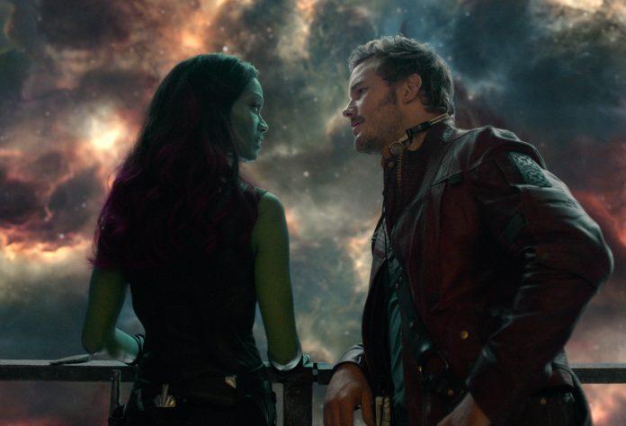 Guardiani della Galassia Quill e Gamora