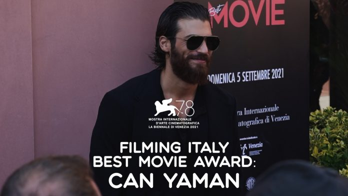 can yaman al filming italy best movie award 2021