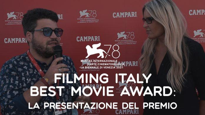 filming italy best movie award 2021