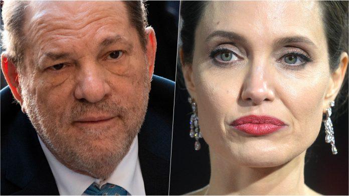 Angelina Jolie Harvey Weinstein