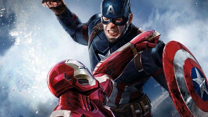 marvel endgame captain america iron man